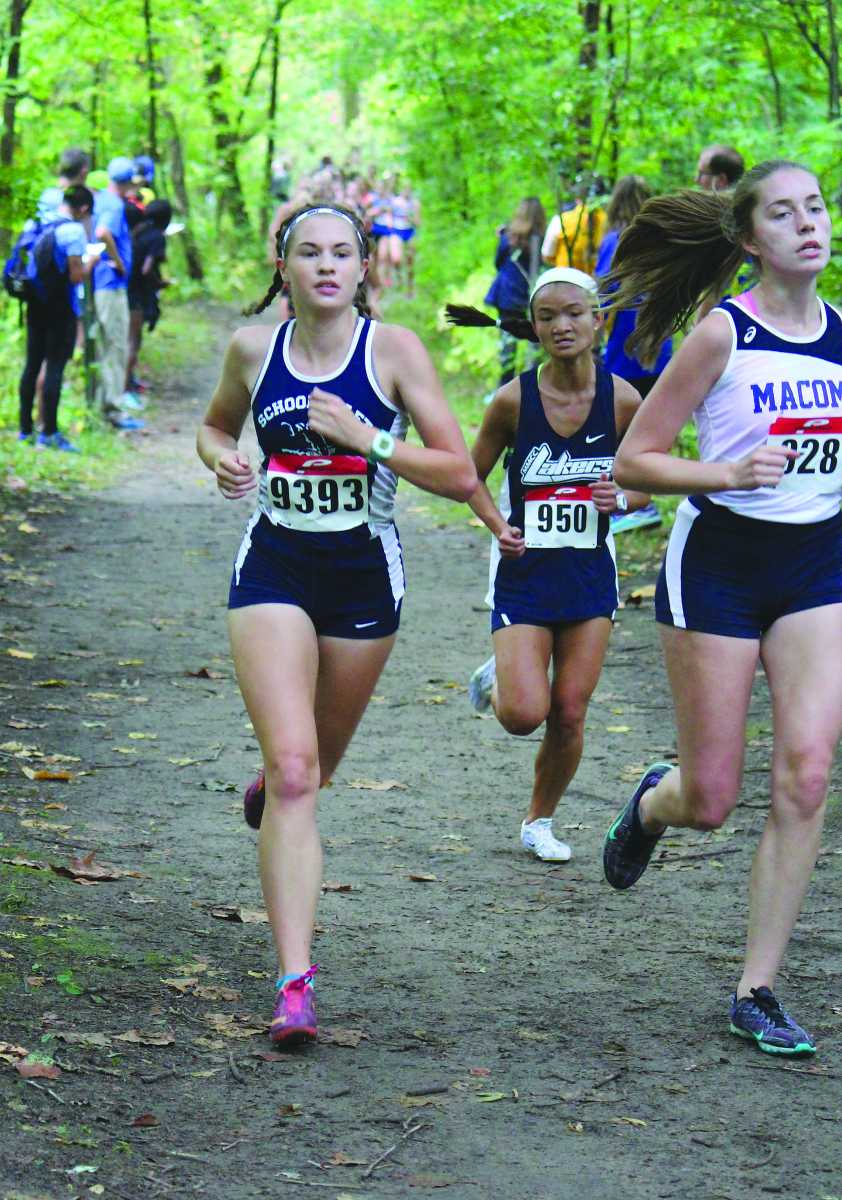 Cross country making strides