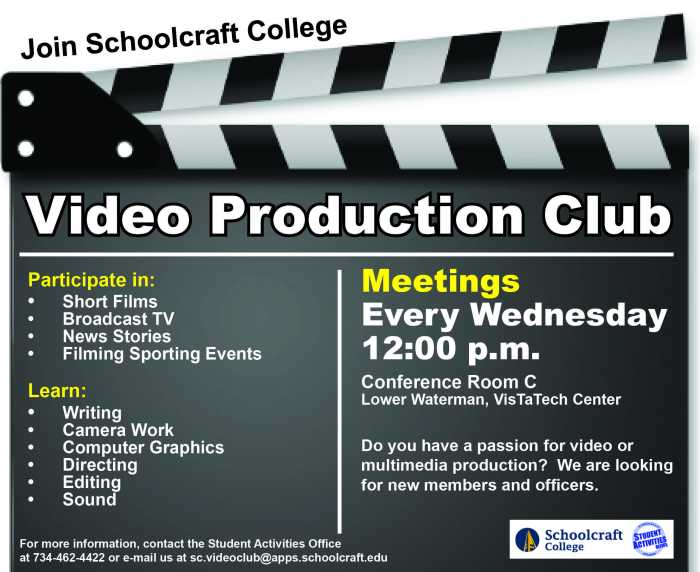 Video Production Flyer