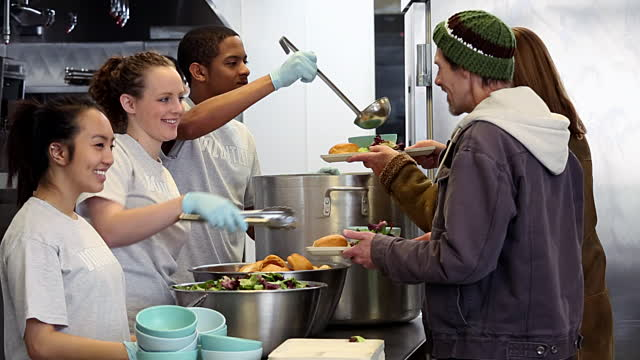 Volunteer At A Soup Kitchen - Best Home Interior •