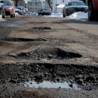 Pit or pothole