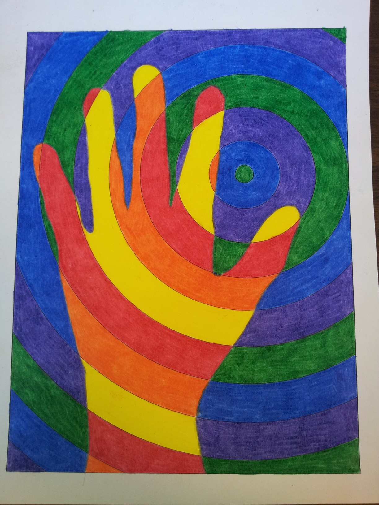 Level 1 Art Warm Hands