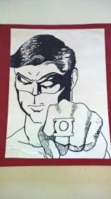 Schooled in Love: Superhero Grid Drawings