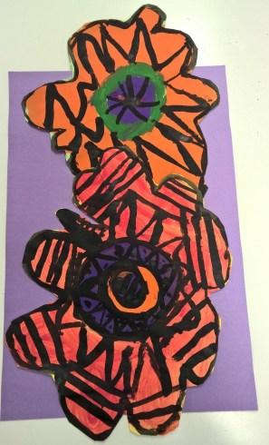 Schooled in Love: Funky Flowers