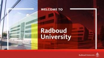 Radboud University Scholarship