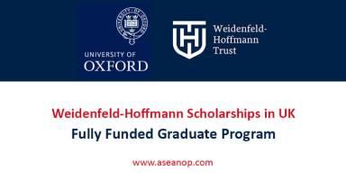 Weidenfeld-Hoffman Scholarship