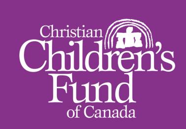 Christian Children's Fund of Canada Recruitment