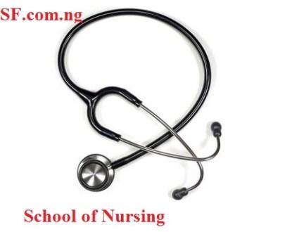 Nigerian Air Force College of Nursing Form
