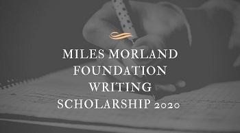 Morland Foundation Writing Scholarship
