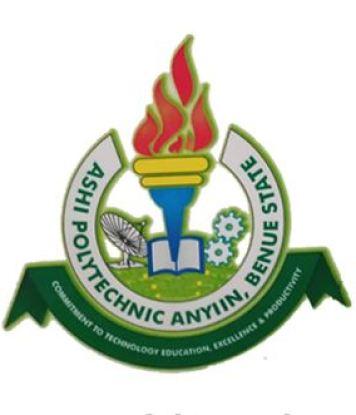 Ashi Polytechnic HND Admission Form