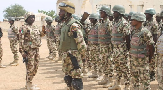 Nigerian Army DSSC Shortlisted Candidate