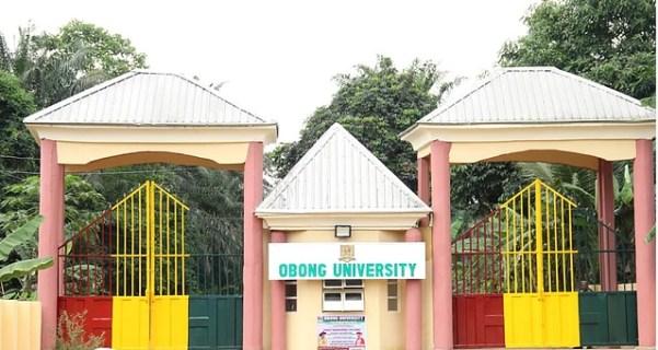 Obong University Post UTME / DE