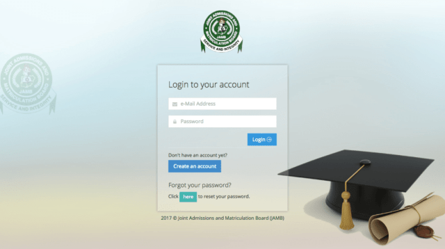 Easy Step by Step to Login to Jamb Portal