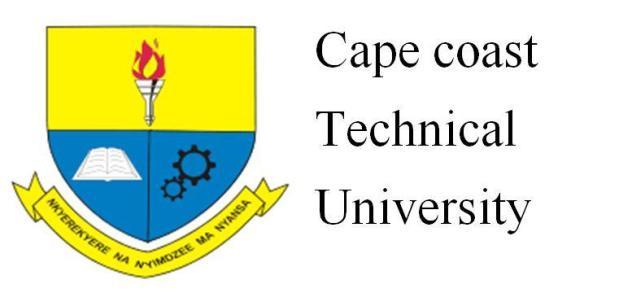 Cape Coast Technical University Admission Forms