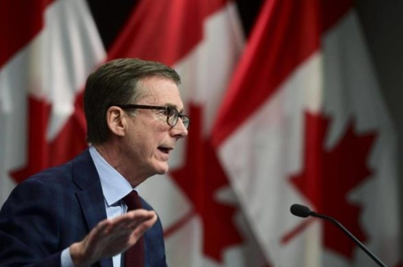 Bank of Canada Cuts Growth Forecast
