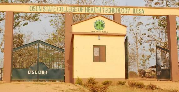 Osun College of Health / Tech Cut Off Marks