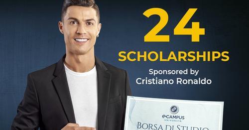 Cristiano Ronaldo scholarships