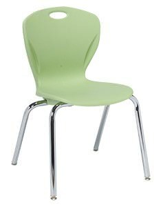 artco bell chairs for showers invalids discover d100 series four leg stacking chair 16 seat height b shell h artcobell d10b