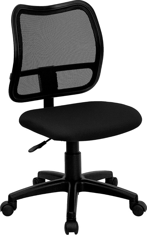 chair mesh stool hanging extension mid back drafting with black fabric seat and arms or 3 color options