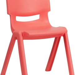 Kids Stackable Chairs Chair Covers For Sale In Pretoria Red Plastic School With 13 25 Seat Height