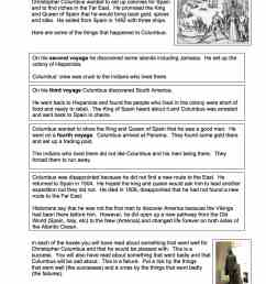 Was Christopher Columbus a Success or Failure Worksheet - Year 8/9 [ 1754 x 1239 Pixel ]