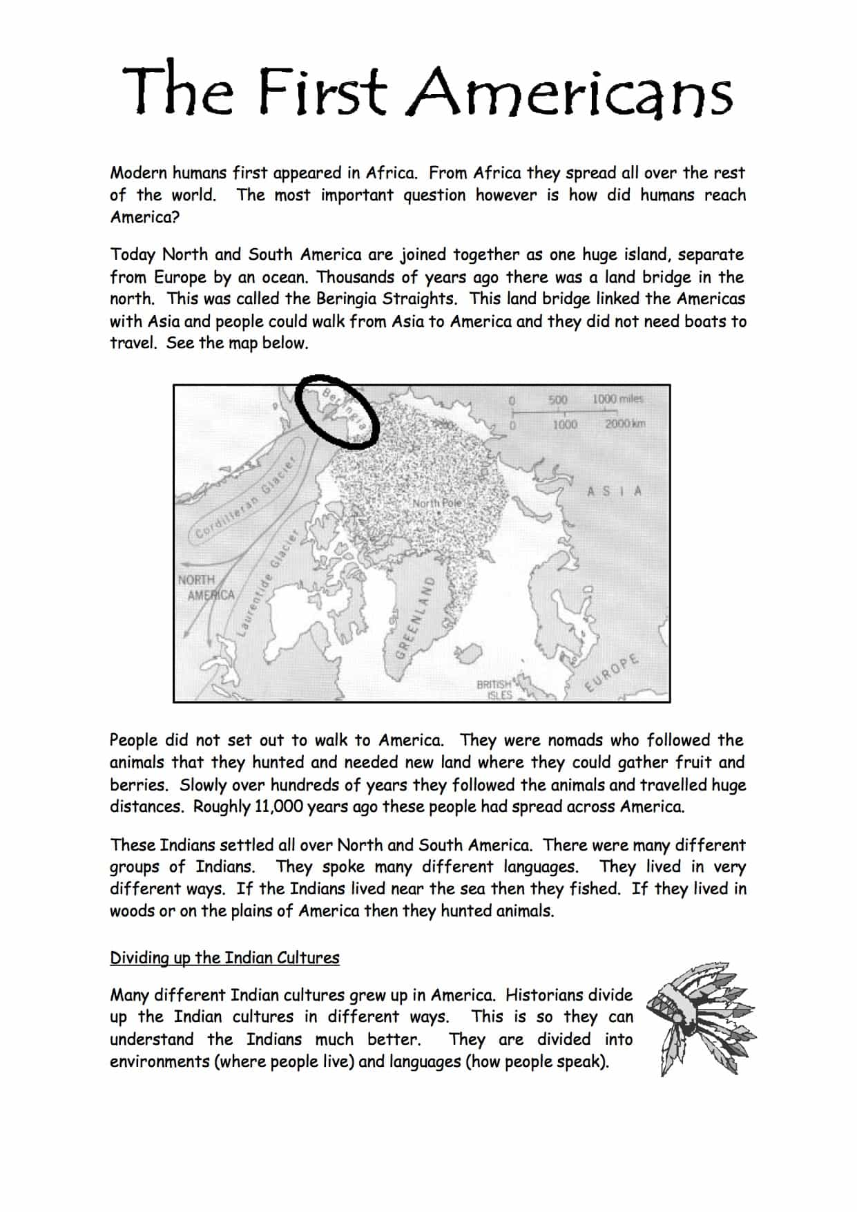 Middle Ages Map Worksheet