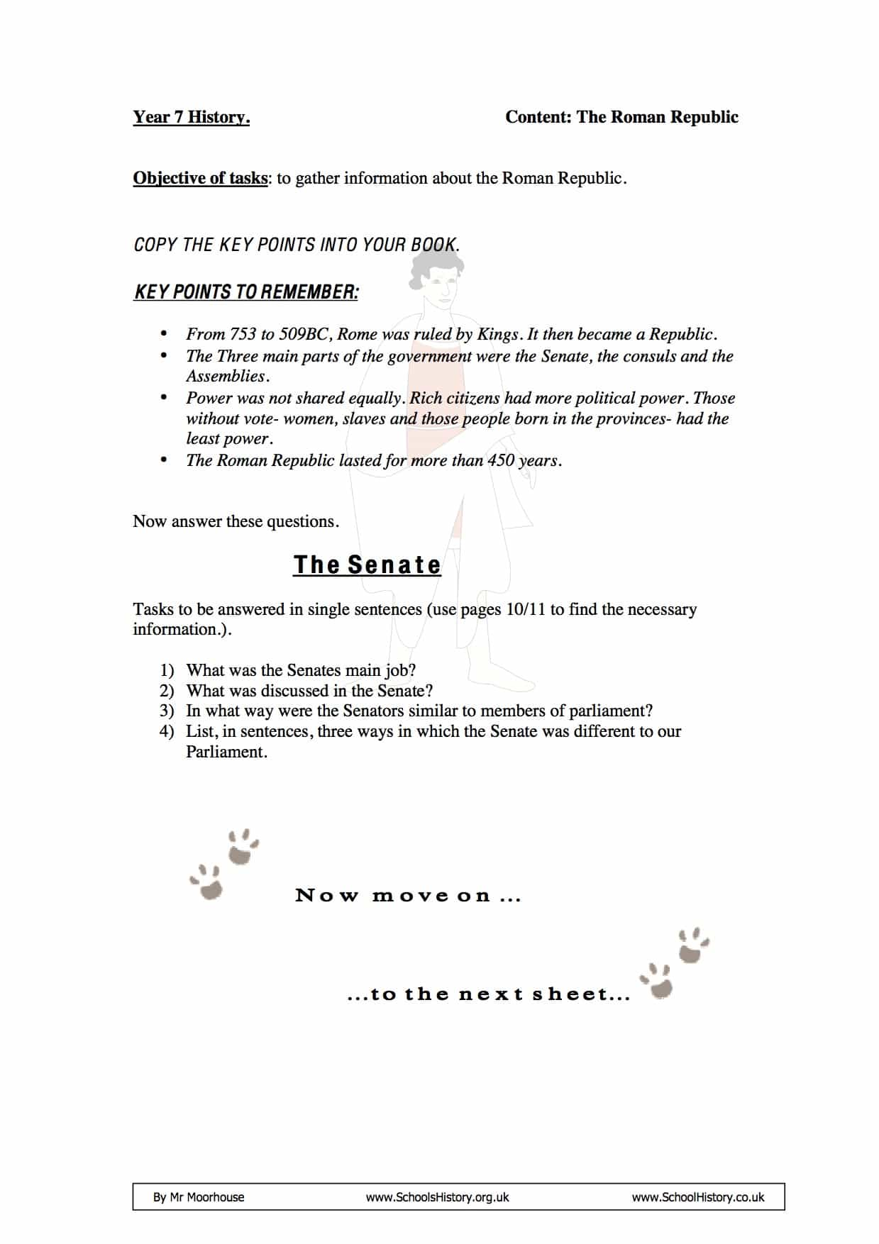 Printables Of The Roman Republic Worksheet Answer Key