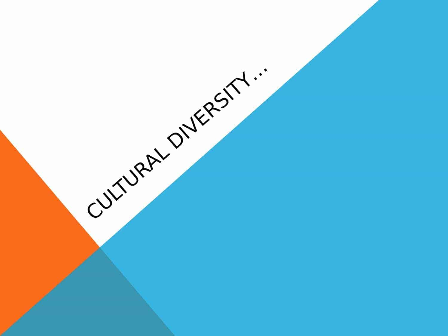 Italy Cultural Diversity