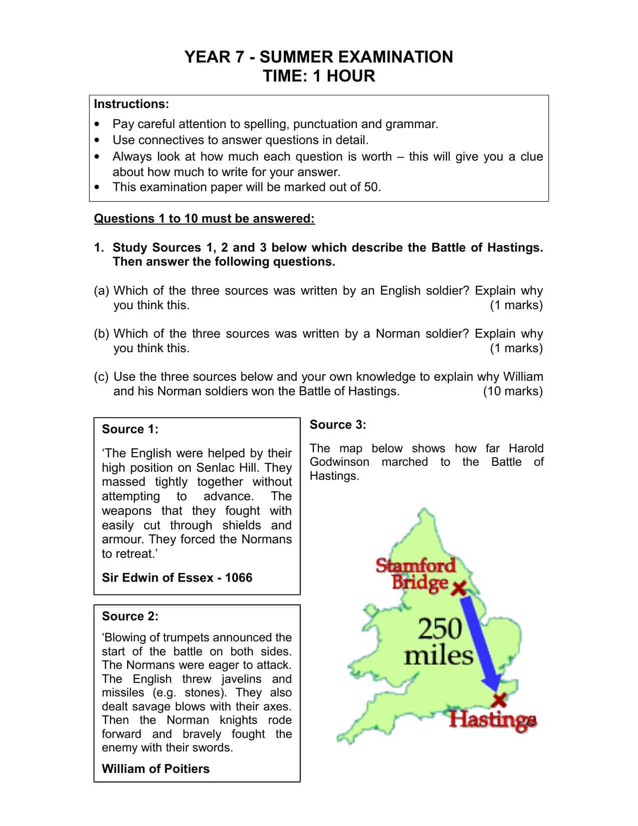 Printables Of Year 7 German Revision Worksheet