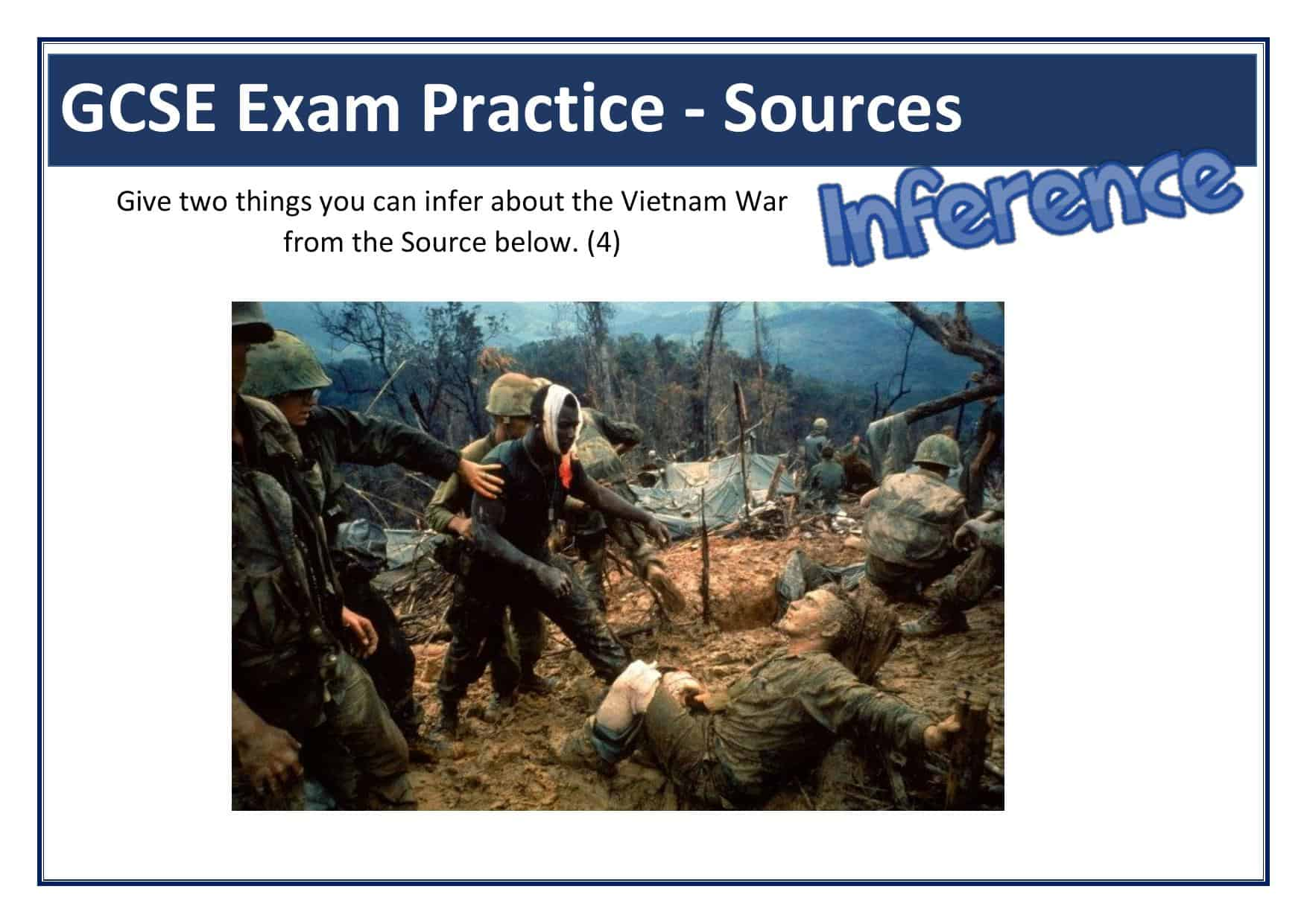 Vietnam War Inference Sourceysis Amp Question