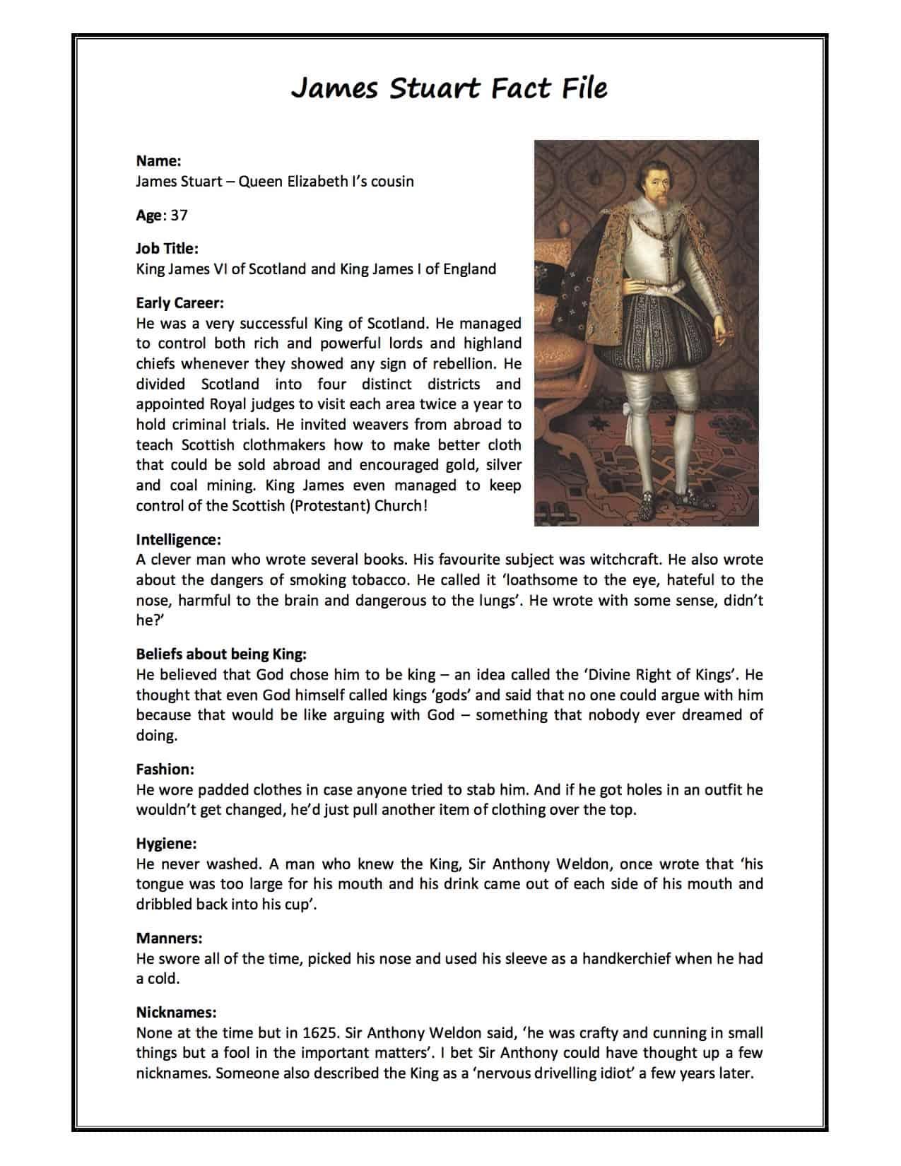 James Stuart I Facts Information Amp History