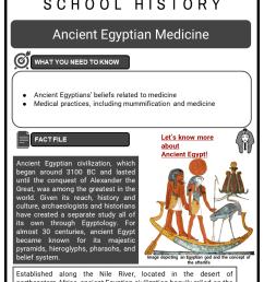 Ancient Egypt Worksheets   KS3 \u0026 KS4 Lesson Resources [ 1123 x 794 Pixel ]