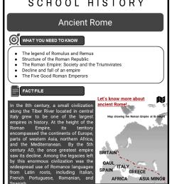 The Romans \u0026 Roman Empire Worksheets   KS3 \u0026 KS4 Resources [ 1123 x 794 Pixel ]
