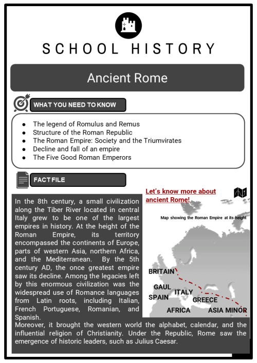 small resolution of The Romans \u0026 Roman Empire Worksheets   KS3 \u0026 KS4 Resources