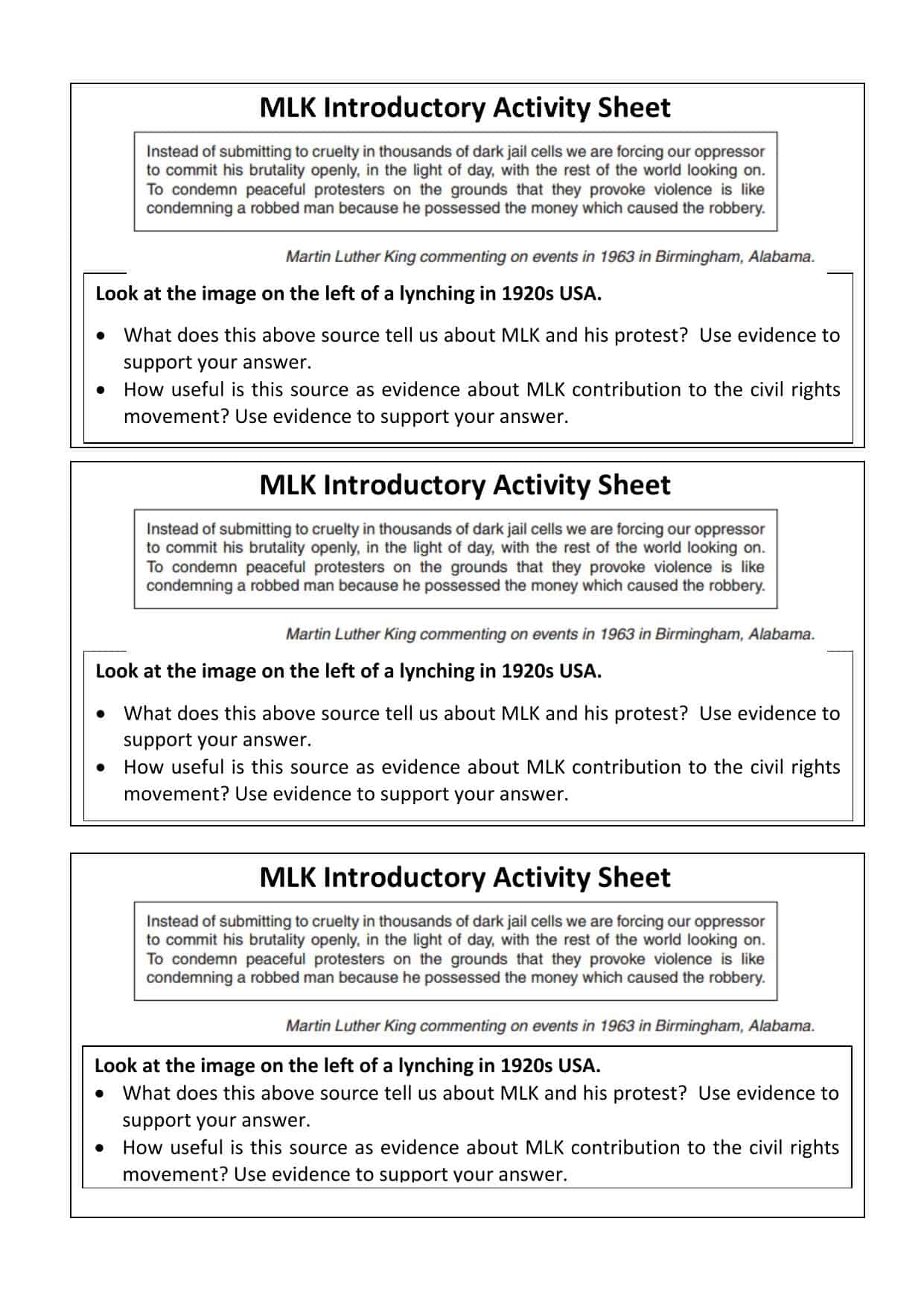 hight resolution of K12reader Worksheet Civil Rights   Printable Worksheets and Activities for  Teachers