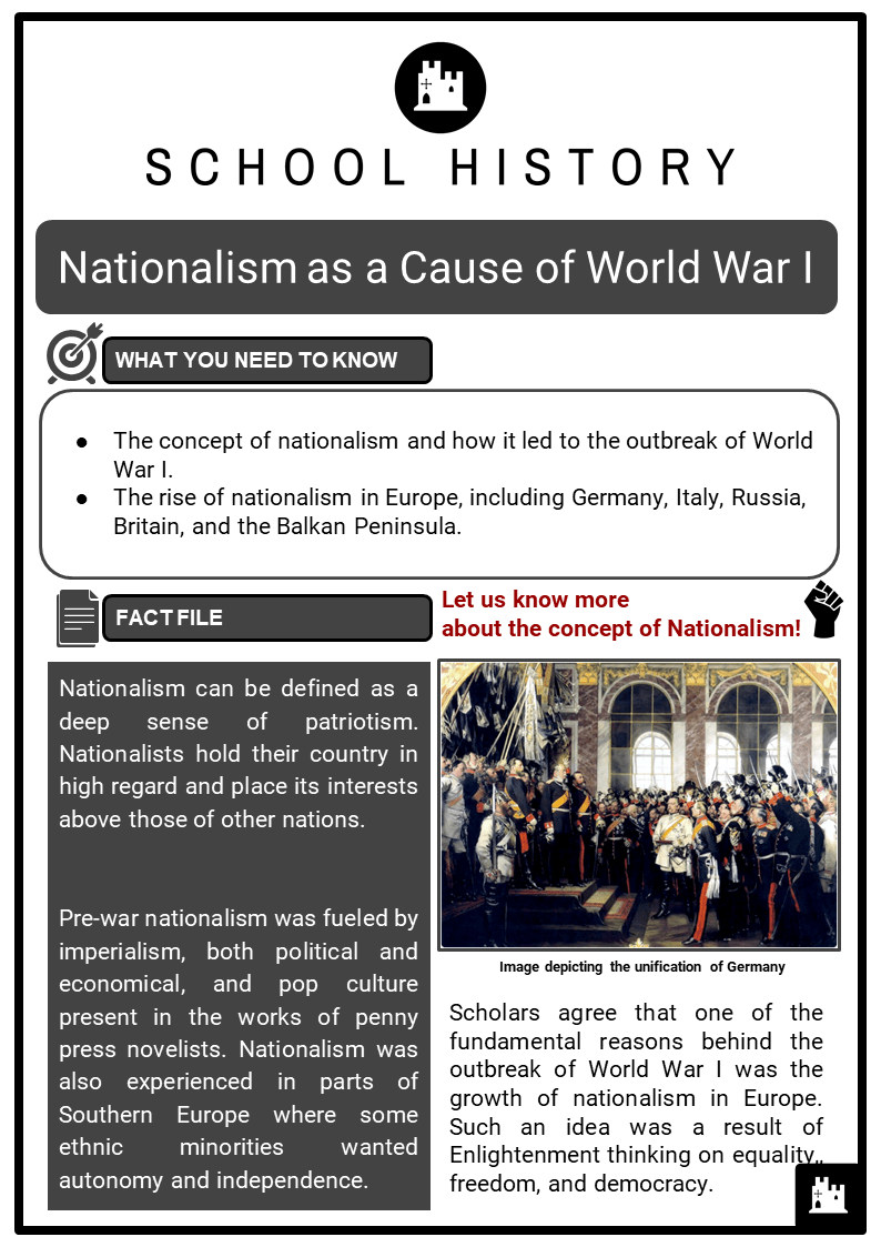 hight resolution of WW1 (The Great War) Worksheets   KS3 \u0026 KS4 Lesson Plans Resources