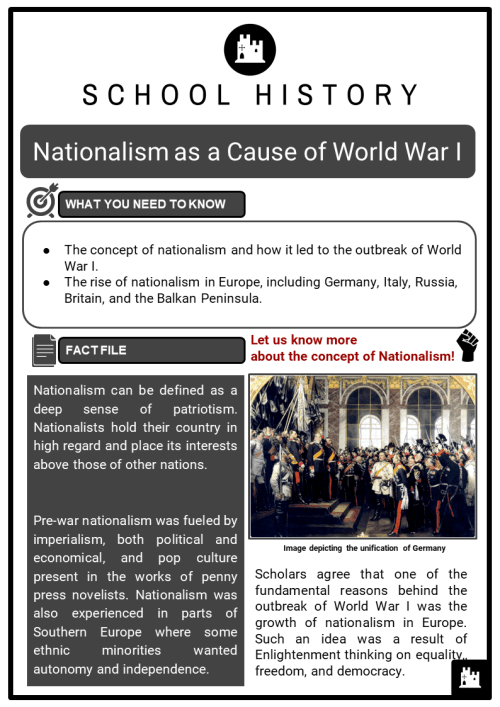 small resolution of WW1 (The Great War) Worksheets   KS3 \u0026 KS4 Lesson Plans Resources