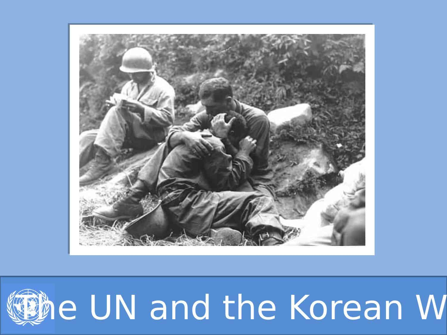 The Un And Their Role In The Korean War Igcse Powerpoint