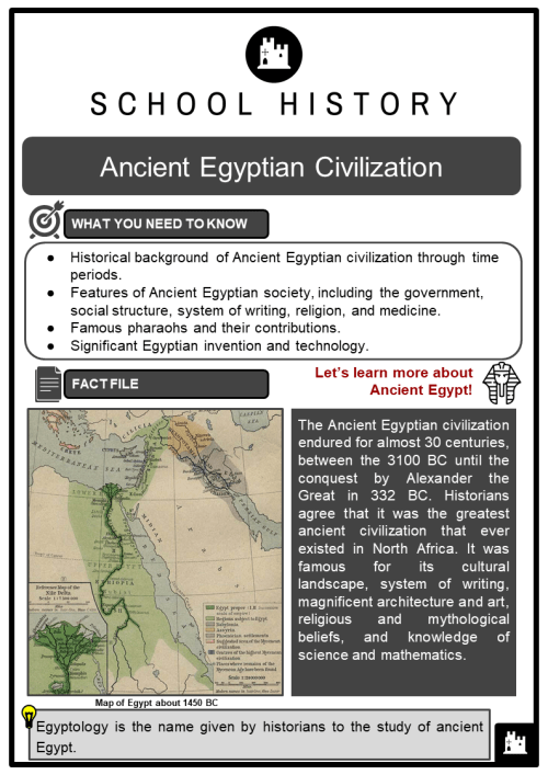 small resolution of Ancient Egyptian Civilization Facts