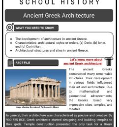 Ancient Greek Architecture Facts [ 1123 x 794 Pixel ]
