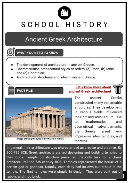 small resolution of Ancient Greek Architecture Facts