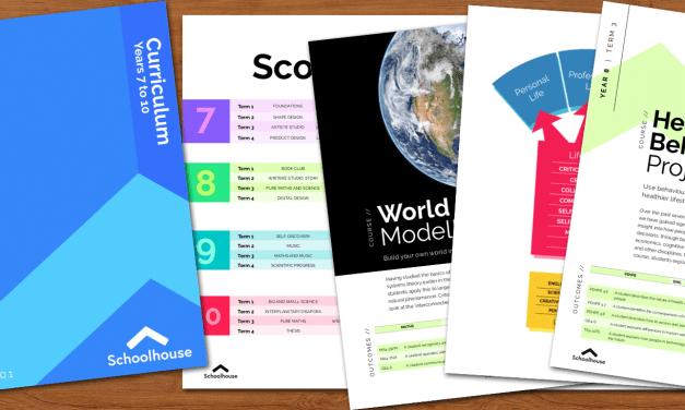 Schoolhouse Curriculum v1.0
