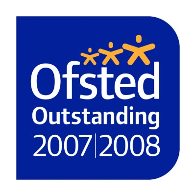 Ofsted's logo for 'outstanding' status