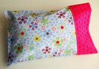 Travel Pillow Case Cover Pattern