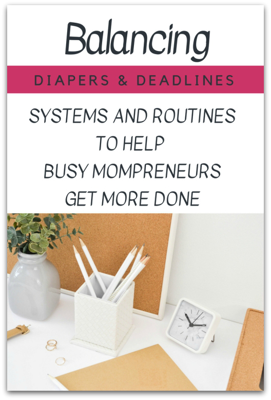 Balancing Diapers and Deadlines
