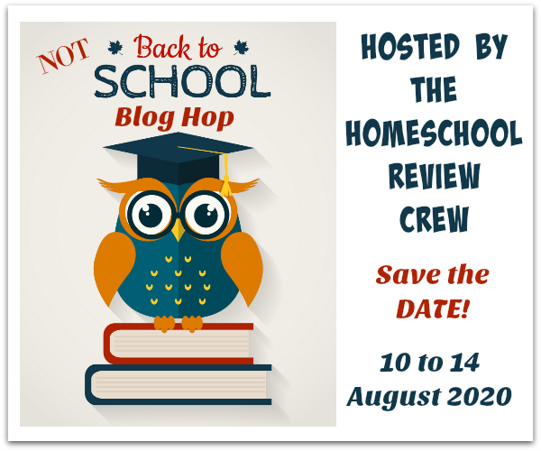 Annual NOT Back to School Blog Hop 2020