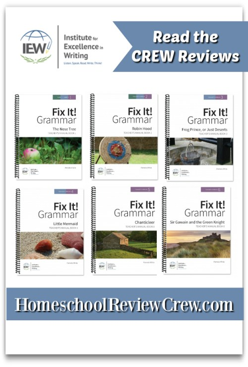 Fix It! Grammar {Institute for Excellence in Writing (IEW) Reviews}