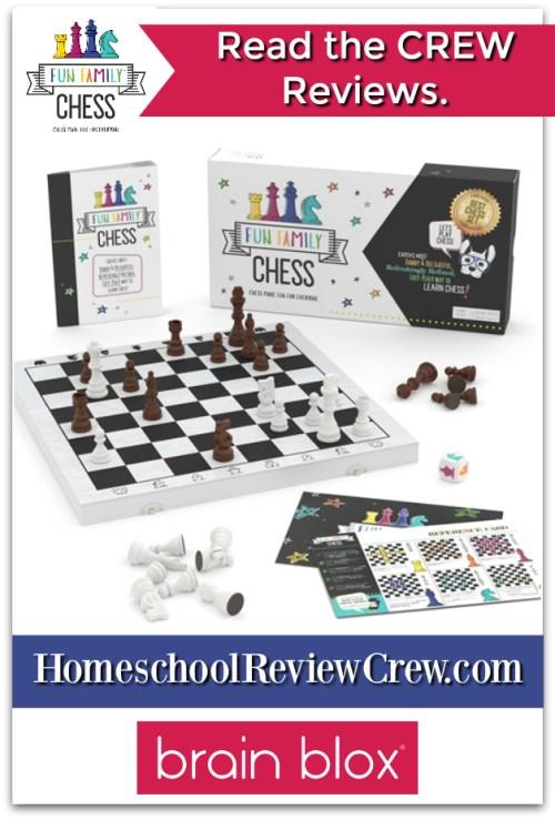 Fun Family Chess {Brain Blox Reviews}