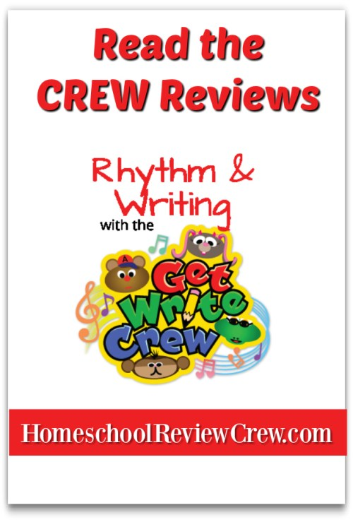 Rhythm & Writing with the Get Write Crew {Rhythm & Writing Reviews}
