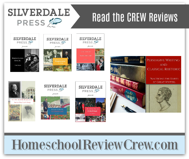 Persuasive Writing & Classical Rhetoric: Practicing the Habits of Great Writers & White House Holidays Unit Studies {Silverdale Press LLC Reviews}