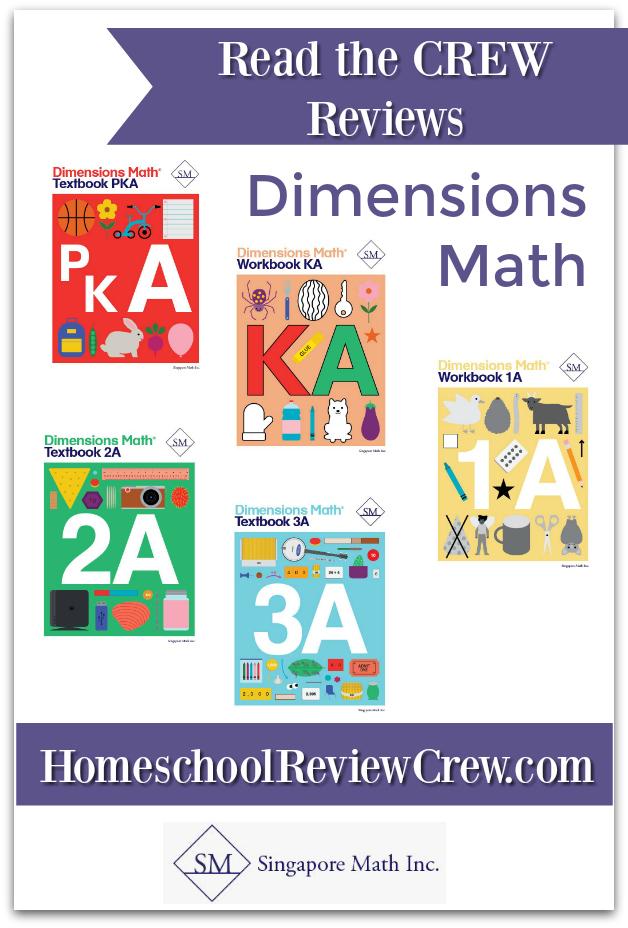 Dimensions Math PK-5 {Singapore Math Inc. Reviews}